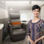 シンガポール航空新スイート