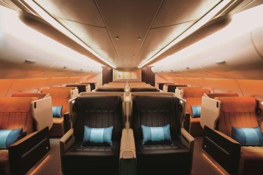 シンガポール航空A380ビジネスクラス