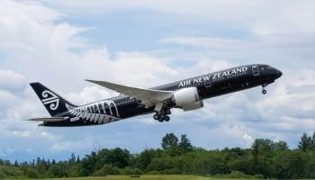 ニュージランド航空787-9敵