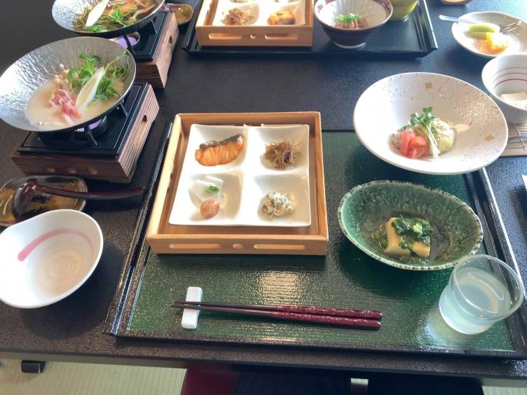 ふる里湯川温泉朝食